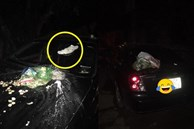 Đỗ xe chắn bãi rác, tài xế ô tô chắc sẽ 'hoảng hồn' với thứ nhầy nhụa trên nắp ca - pô