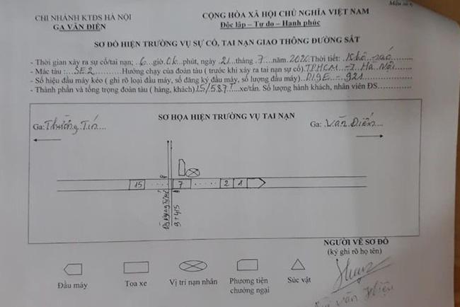 Tìm thân nhân người đàn ông mặc đồng phục Grab tử vong vì bị tàu hỏa đâm-3