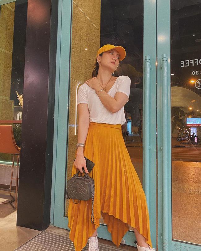 Các mỹ nhân Việt có loạt cách diện chân váy siêu xinh, bạn áp dụng thì sẽ đẹp mọi lúc mọi nơi-4