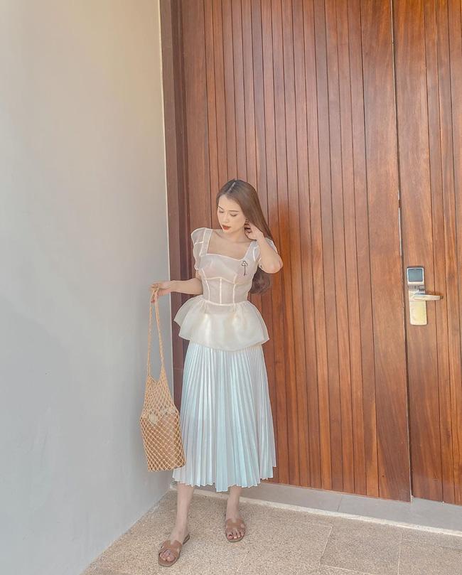 Các mỹ nhân Việt có loạt cách diện chân váy siêu xinh, bạn áp dụng thì sẽ đẹp mọi lúc mọi nơi-8