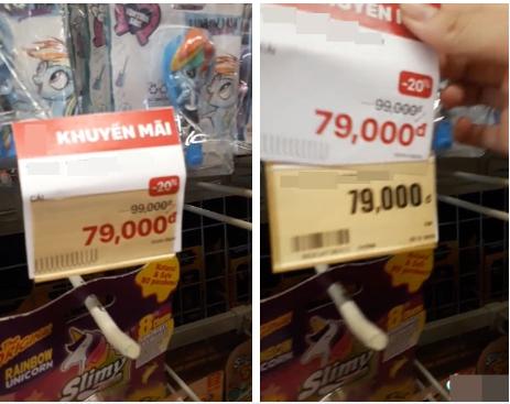 Tò mò bóc giá sản phẩm, thanh niên phát hiện tờ giấy tăng giá dán đè, bức xúc đăng đàn mới biết là mánh nhỏ của siêu thị-3