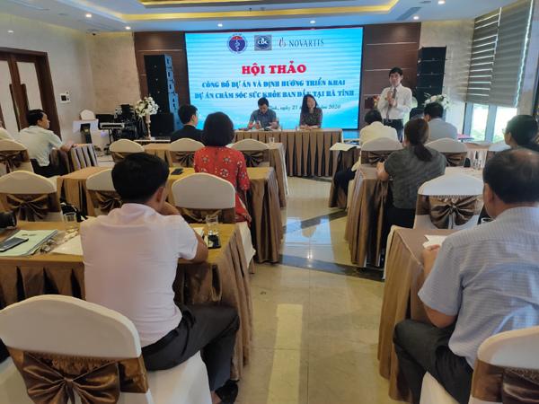 Hà Tĩnh: khởi động dự án Tăng cường chăm sóc sức khỏe ban đầu-1