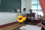 Đang trong giờ học mà thầy lăm lăm cầm 1 vật thể lạ, học trò vừa ôm bụng cười vừa phải lén chụp 1 tấm hình tố thầy quá cute-4