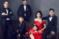 Bộ ảnh kỷ niệm 13 năm cưới của Hà Kiều Anh: Sang trọng chuẩn 'gia đình đá quý', công chúa út chiếm trọn spotlight