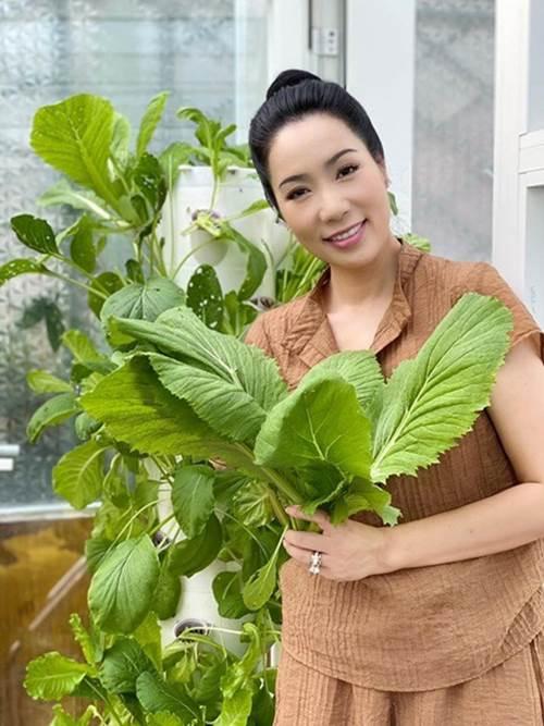 Ông xã đại gia tặng biệt thự 200m2, nghệ sĩ Kim Chi tự trồng rau ăn 5 bữa không hết-3