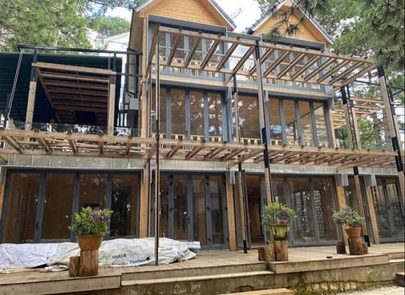 Phan Như Thảo xây thêm biệt thự gỗ 800 m2 mang tên con gái rượu-1