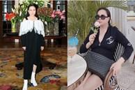 Cuối năm 2019 Phượng Chanel toàn diện đồ rộng thùng thình, vài bộ bị chê nhưng thực chất đây lại là chiêu giấu bụng cao tay của nữ đại gia