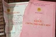 Từ 1/9, xé đăng ký kết hôn có thể bị phạt đến 20 triệu đồng