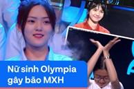 Dàn nữ sinh Olympia gây ồn ào trên MXH: Người là 'hot girl ống nghiệm', người tạo tranh cãi vì múa quạt theo Khá Bảnh