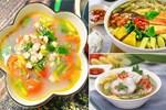 Tăng Thanh Hà nấu cháo trắng lá dứa topping đầy đủ, ông xã Louis Nguyễn làm hành động này đủ biết ngon thế nào-11