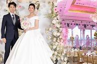 Hé lộ thực đơn tiệc cưới của Á hậu Thuý Vân: món ăn tầm trung nhưng đặc biệt nhất là menu được trang trí rất cầu kỳ