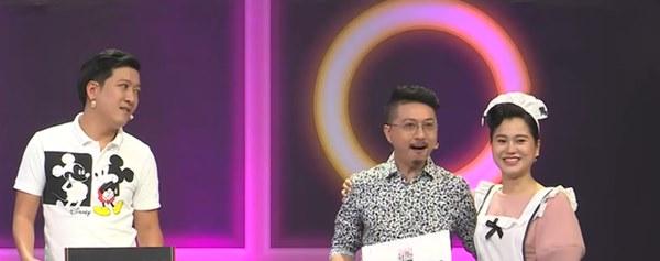 Lộ clip Trường Giang nói lớn tiếng trong hậu trường gameshow-1