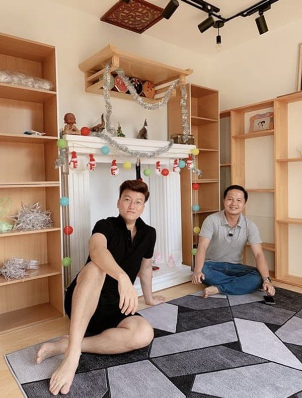 Người yêu kém 12 tuổi sinh con, Sỹ Luân đập tường 2 căn hộ làm nơi nghỉ dưỡng-6