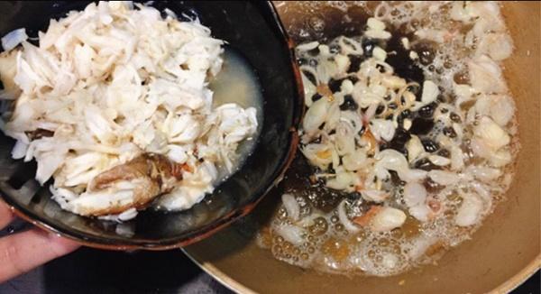 Buổi sáng đãi cả nhà miến xào cua biển ngọt thịt thơm ngon không bị dính-6