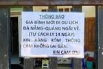 Buộc cách ly một bệnh nhân trốn viện từ Đà Nẵng về Quảng Ngãi-3