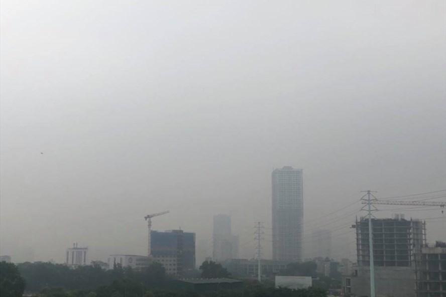 Hà Nội lại ô nhiễm không khí nghiêm trọng-1