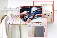 3 tiêu chí lựa chọn móc treo giúp bạn xếp quần áo gọn gàng, lại cất được nhiều hơn trước gấp 2-3 lần