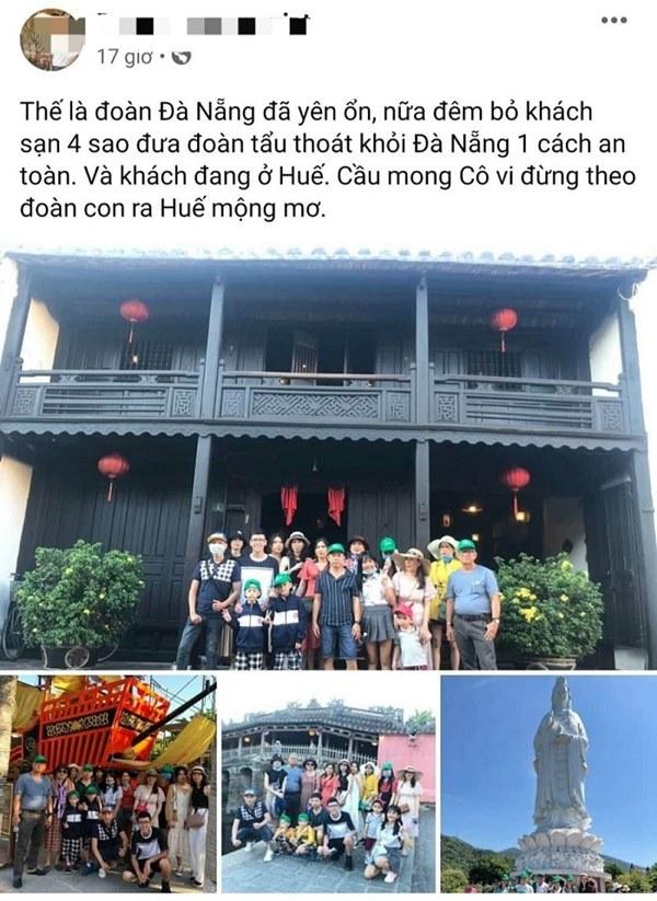 Sự thật vụ việc công ty du lịch đưa khách tẩu thoát khỏi Đà Nẵng-1