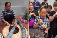 Nhiều lần bị chỉ trích, bà Tân vẫn 'chứng nào tật nấy' nấu ăn mất vệ sinh đem ra mời các cháu