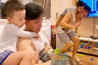 Diễn viên Việt Anh căng thẳng cùng con vượt qua khủng hoảng trong giai đoạn đầu bố mẹ ly hôn