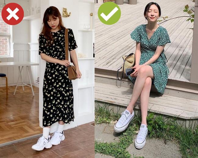 3 cặp giày dép + váy cứ đi với nhau là dễ toang cả set đồ, diện lên bị chê mặc xấu cũng không có gì lạ-1