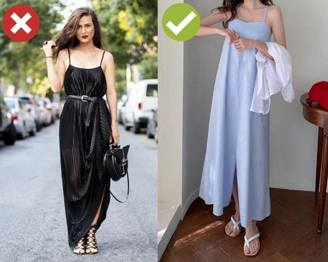 3 cặp giày dép + váy cứ đi với nhau là dễ toang cả set đồ, diện lên bị chê mặc xấu cũng không có gì lạ-2