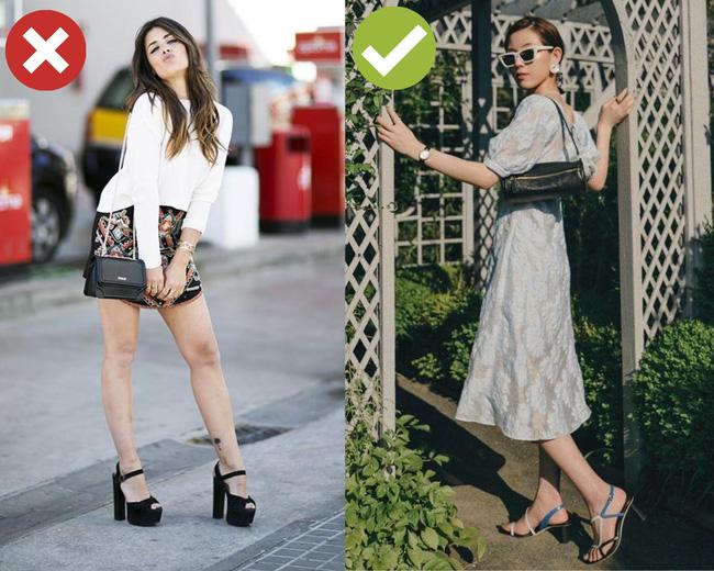 3 cặp giày dép + váy cứ đi với nhau là dễ toang cả set đồ, diện lên bị chê mặc xấu cũng không có gì lạ-3