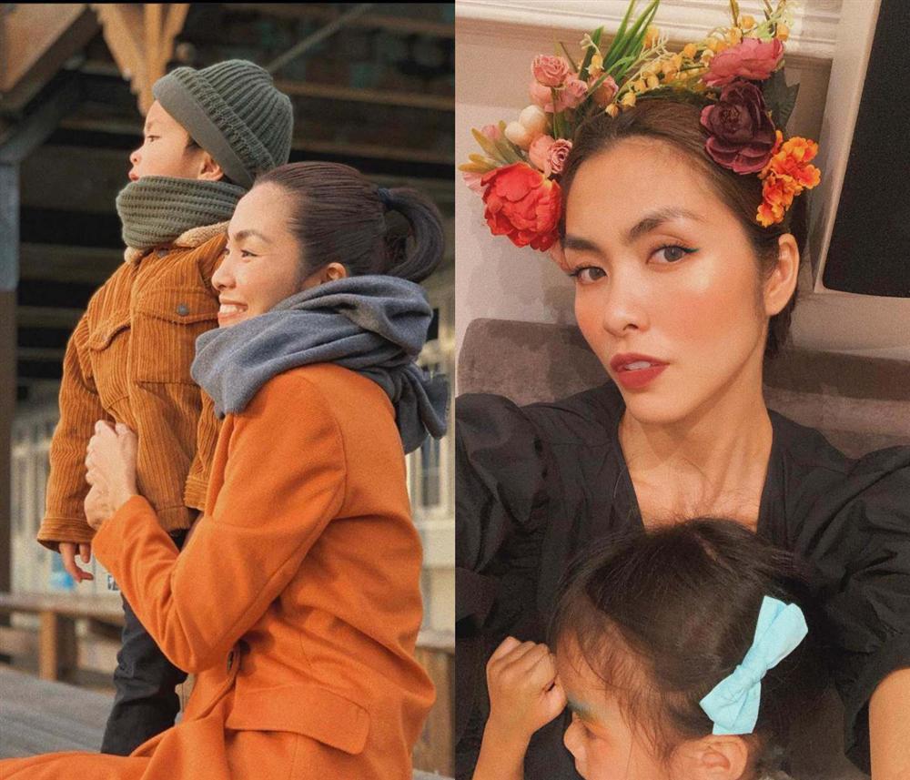 Từ bán cơm bụi giờ Tăng Thanh Hà thành bà mẹ 8 năm ở biệt thự dát vàng chăm con-6