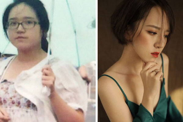 Giảm cân quá thành công cô gái bị ném đá vì nghi sống ảo