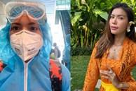 Minh Tú ngày đầu cách ly khi về đến Việt Nam: Bất ngờ đổi địa điểm, chuyển sang ăn chay 14 ngày