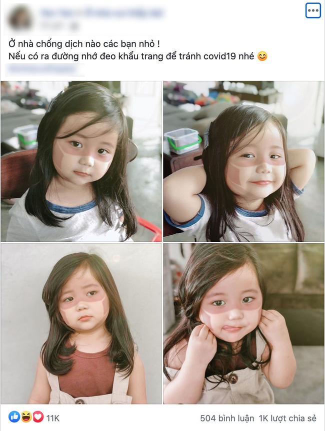 Xôn xao khắp Facebook: Xuất hiện nhiều em bé bị cháy nắng bá đạo, in hằn nguyên chiếc khẩu trang trên mặt, chuyện gì đang xảy ra?-1