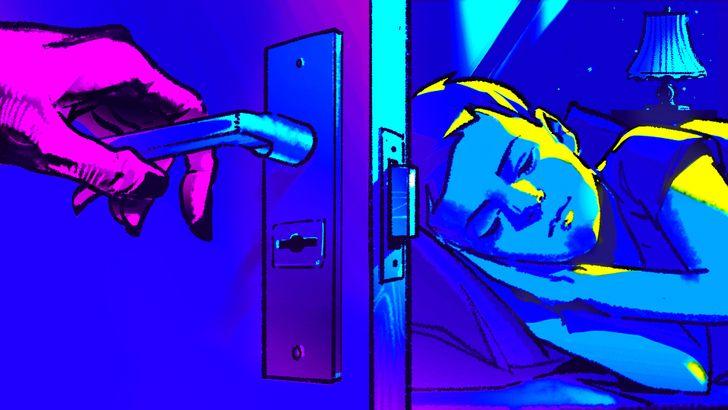 Tại sao không nên mở cửa phòng ngủ vào ban đêm? Câu trả lời sẽ khiến bạn phải rùng mình-3