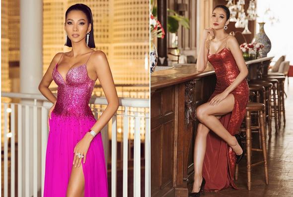 Á hậu Hoàng Thùy đang theo đuổi phong cách thời trang gợi cảm-1