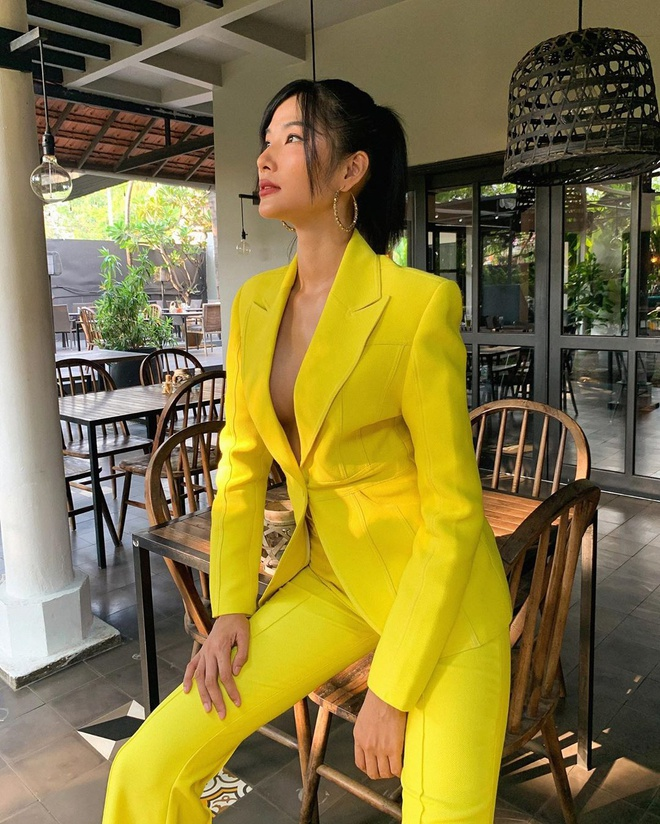 Á hậu Hoàng Thùy đang theo đuổi phong cách thời trang gợi cảm-4
