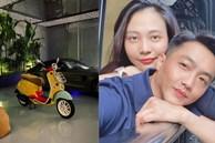 Cường Đô La mua xe máy cả trăm triệu phiên bản giới hạn để tặng vợ bầu đi... cho vui: Ai chiều bà xã hơn thế này nữa?