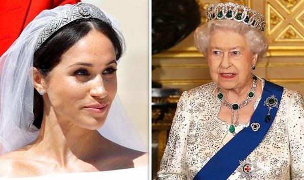 Sách mới về nhà Sussex tiết lộ sự thật đằng sau tranh cãi giữa Meghan với Nữ hoàng về chiếc vương miện không được phép dùng trong hôn lễ hoàng gia-1