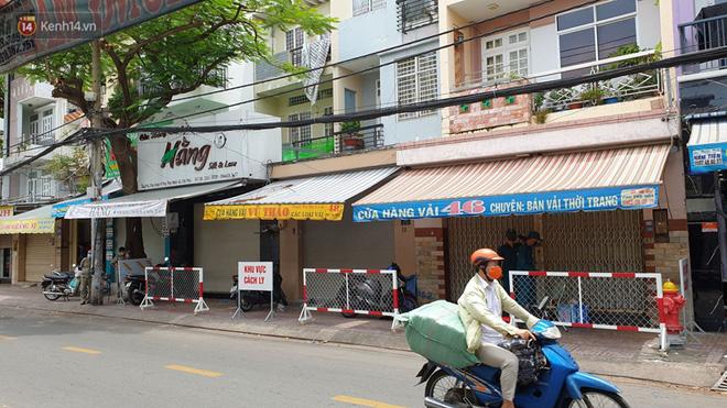 TP. HCM: Phong toả 3 căn nhà ở quận Tân Phú vì một trường hợp liên quan đến BN436-4