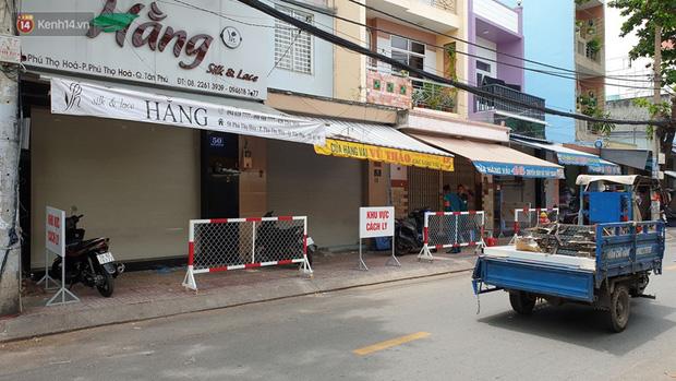 TP. HCM: Phong toả 3 căn nhà ở quận Tân Phú vì một trường hợp liên quan đến BN436-5