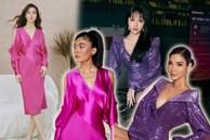 Đụng hàng loạt sao Việt trắng trẻo, hoa hậu Vbiz chứng tỏ da ngăm vẫn vô tư mặc màu nổi
