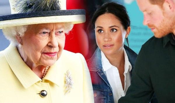 Meghan Markle từng gây náo loạn cung điện, bắt trợ lý riêng của Nữ hoàng Anh phục tùng mình khiến Harry bị bà nội giáo huấn ngay lập tức-2
