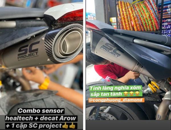 Công Phượng nâng cấp mô tô: Độ cặp pô khủng, tình làng nghĩa xóm sắp tan tành vì tiếng xe-1