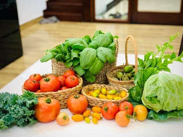 Ăn không xuể với khu vườn rau sạch trên mây của mẹ đảm Sơn La-4