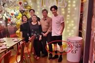 Ngô Kiến Huy hiếm hoi khoe ảnh cả gia đình dịp sinh nhật mẹ, nhưng nhìn đôi chân gầy như cây sậy mà choáng