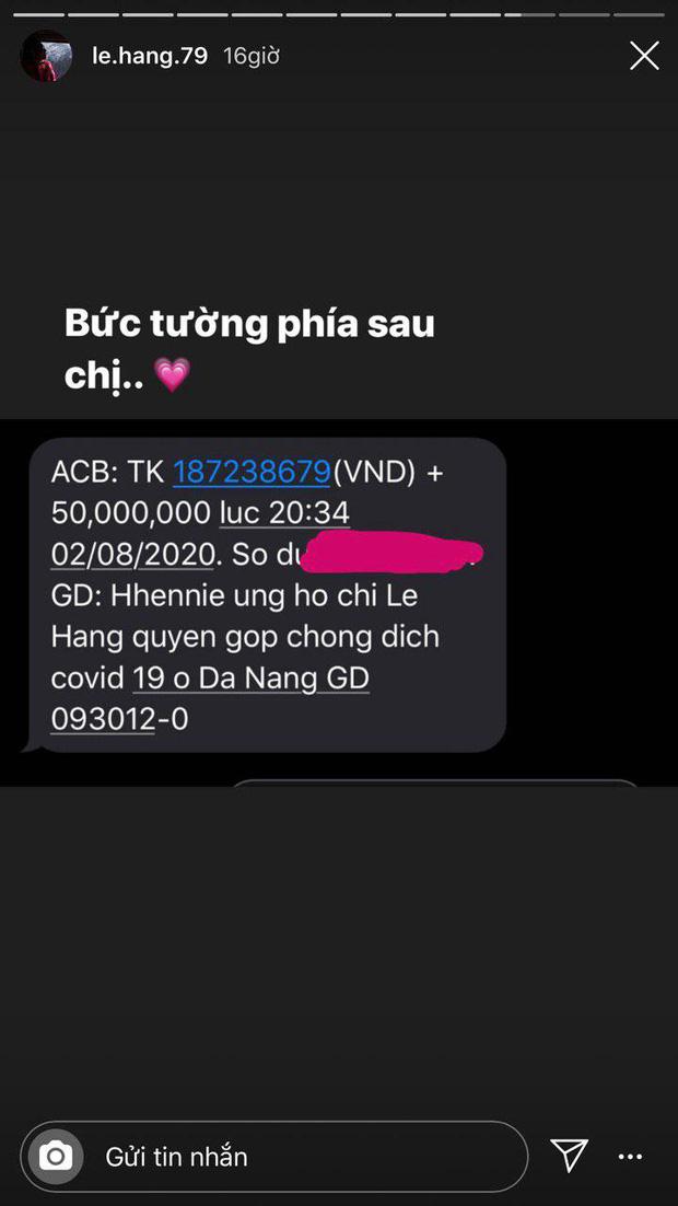 Sao Vbiz đồng lòng hỗ trợ Đà Nẵng chống dịch: Denis - Trung Quân kêu gọi gần 200 triệu, H'Hen Niê nói rõ lí do góp 50 triệu-2