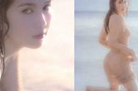 Ngọc Trinh tung loạt ảnh sexy trên biển nhưng lộ cả vòng 1 vì không mặc áo ngực?
