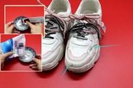 Giày trắng dễ bẩn và quá khó để giặt sạch hẳn? Hãy làm theo cách này giày sẽ trắng sáng chỉ trong vài phút