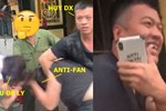 Lưu Đê Ly bị đánh túi bụi trên phố nhưng sao ông xã Huy DX lại cười tươi hơn hoa thế này?