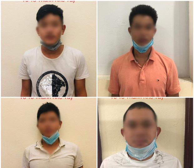 Đà Nẵng: Tổ chức ăn nhậu giữa mùa dịch Covid-19, 4 thanh niên bị phạt 42,5 triệu-1