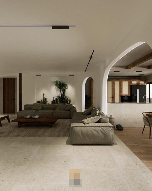 Không gian giản đơn, mộc mạc bên trong căn hộ 350 m2 của ca nương Kiều Anh-3