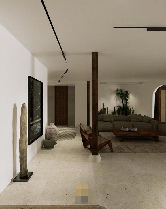 Không gian giản đơn, mộc mạc bên trong căn hộ 350 m2 của ca nương Kiều Anh-4